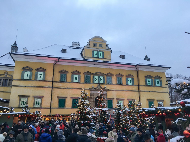 Schloss Hellbrunn Weihnachtsmarkt.Sports N Travel Weihnachtstimmung Am Hellbrunner Adventzauber