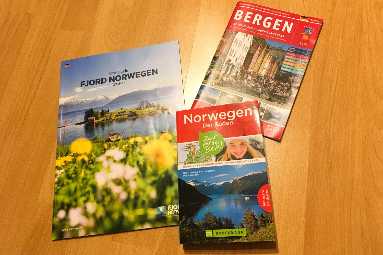 Planung unserer Fjordnorwegen-Reise