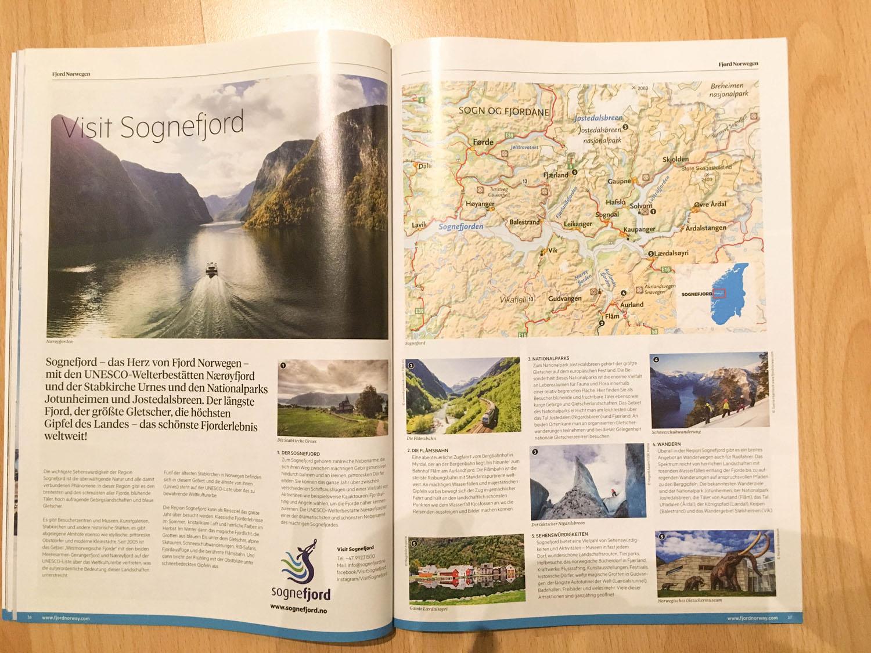 Sognefjord im Fjord Norwegen Reiseguide
