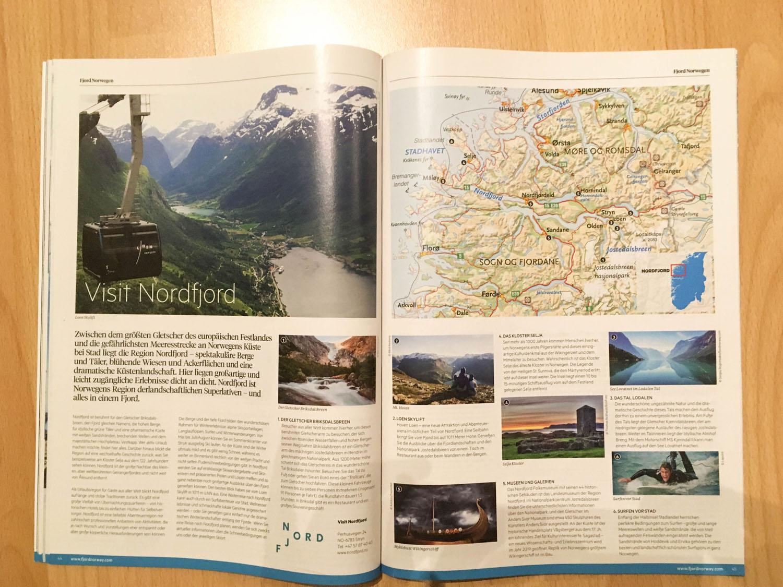 Geirangerfjord im Fjord Norwegen Reiseguide