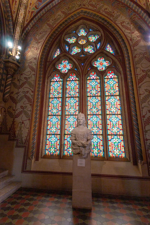 Statue der Königin Elisabeth