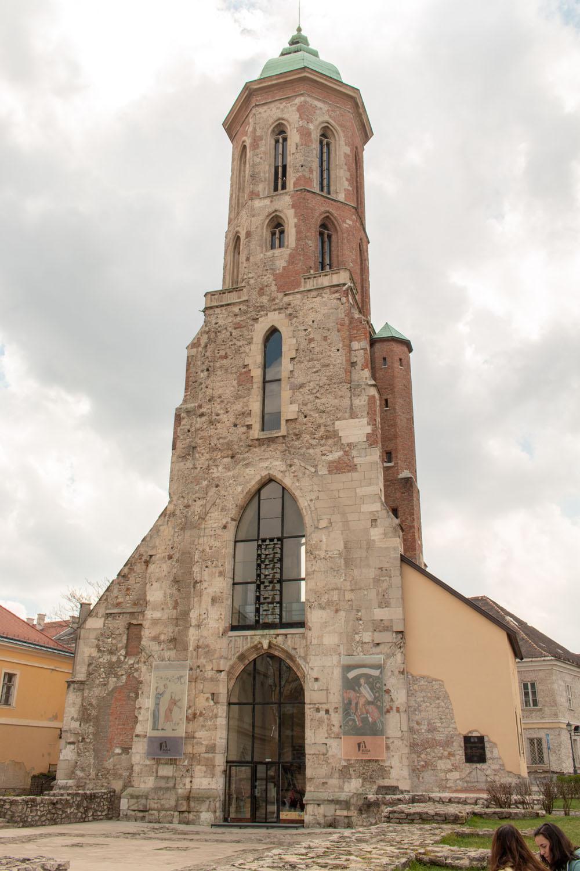 Westturm der Maria-Magdalenen-Kirche