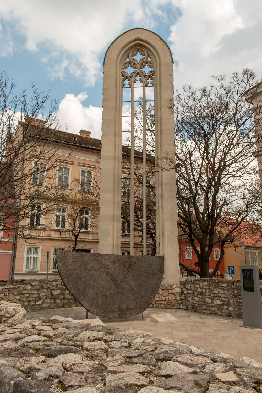 Reste des Kirchenschiffs