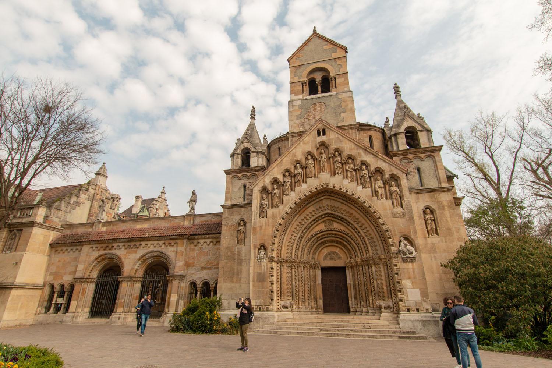 Nachbau der Kirche aus Ják