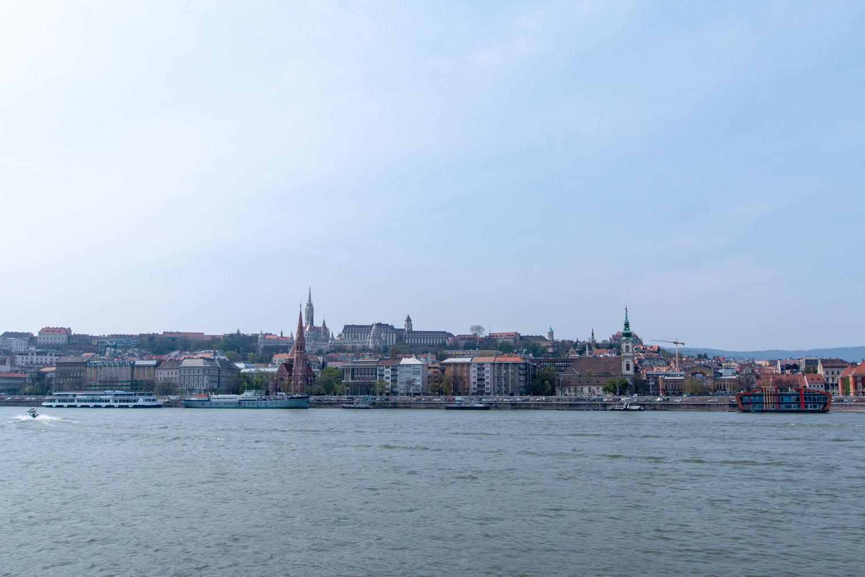 Blick Richtung Matthiaskirche und Fischerbastei