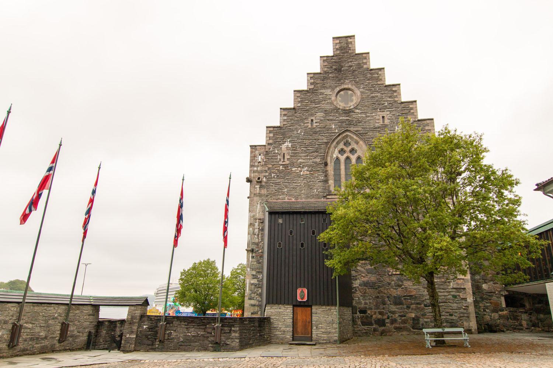 Håkonshalle in der Festung Bergenhus