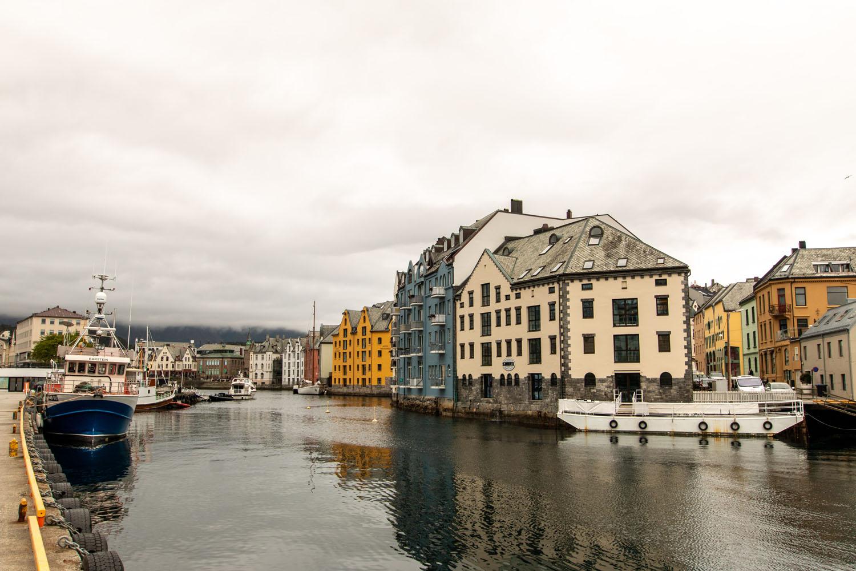 Jugendstilhäuser in Ålesund