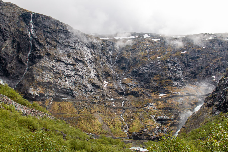Haarnadelkurven auf den Trollstigen