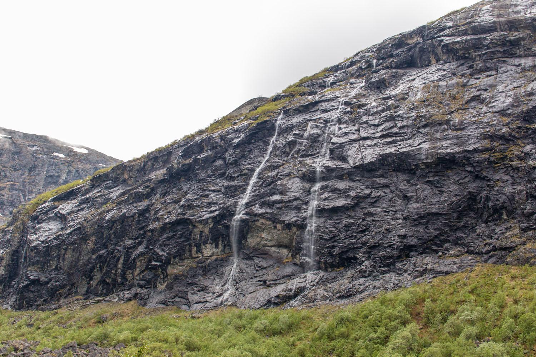 Wasserfälle beim Trollstigen
