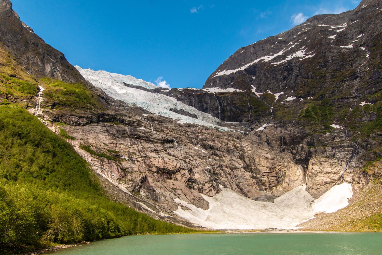 Bøyabreen-Gletscherzunge des Jostedalbreens