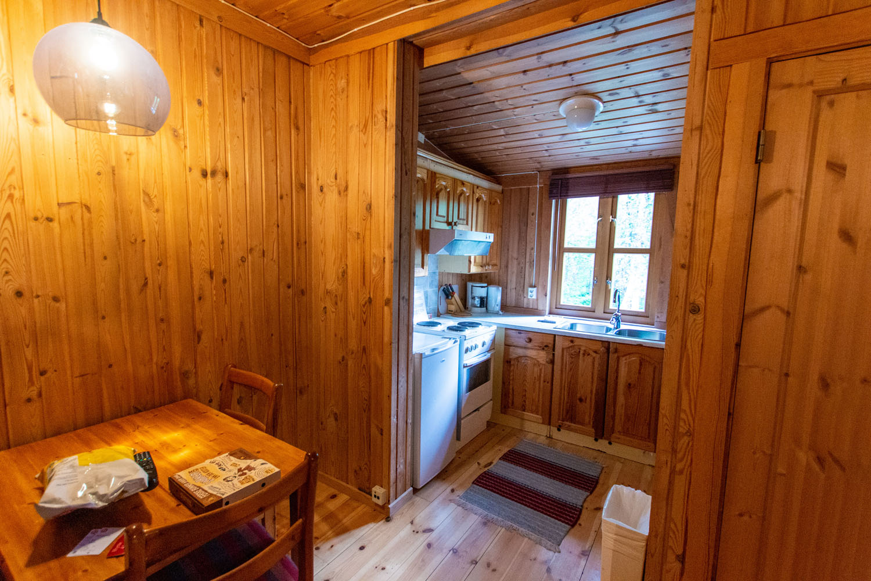 ...mit der kleinen Küche