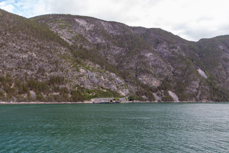 Fährhafen in Mannheller