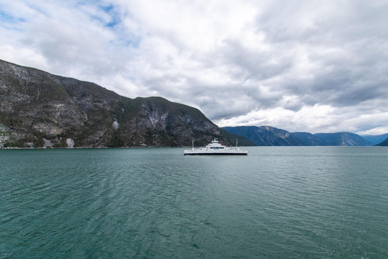 Fähre auf dem Sognefjord