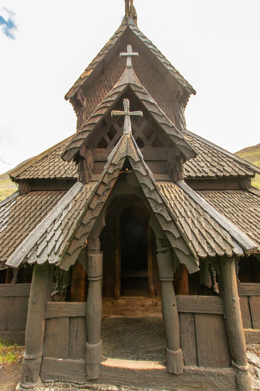 Eingang in die Kirche