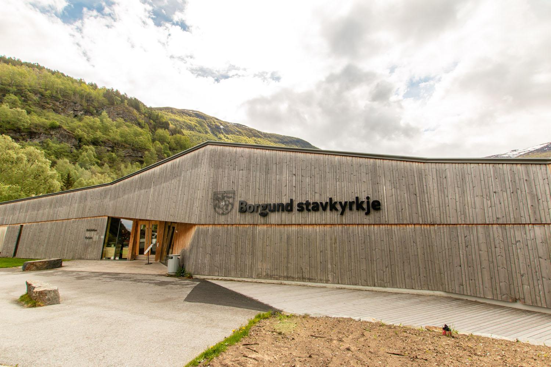 Besucherzentrum bei der Stabkirche von Borgund