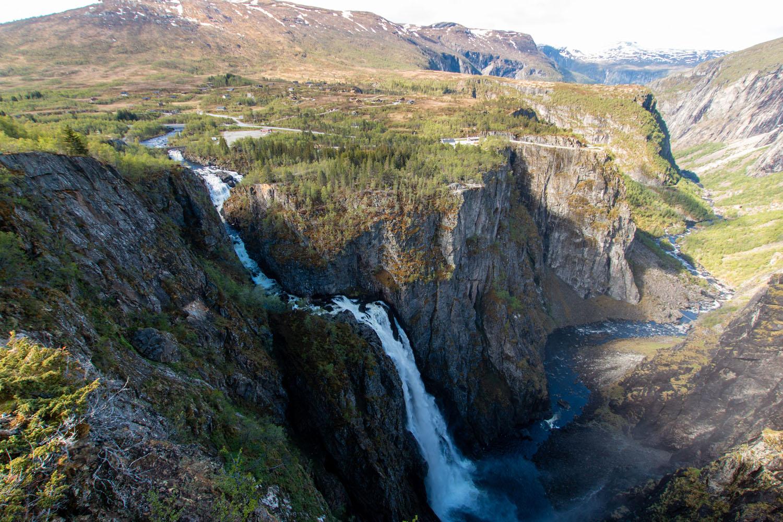 ...Vøringsfossen-Wasserfall