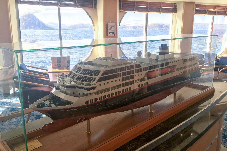 Ein Modell unseres Schiffes