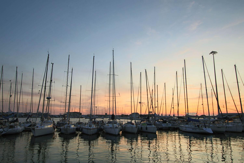 Hafen von Livorno