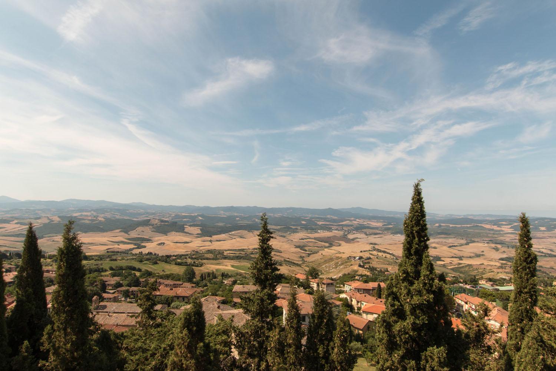 Aussicht von Volterra
