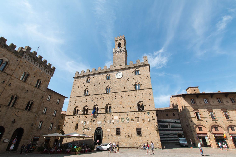 ...mit dem Palazzo dei Priori