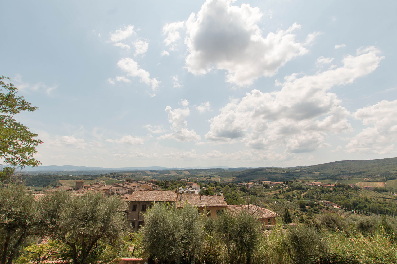 Blick von der Burganlage Rocca di Montestaffoli