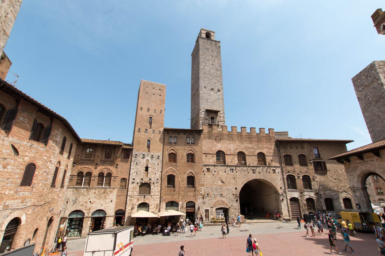 Blick auf den Piazza del Duomo