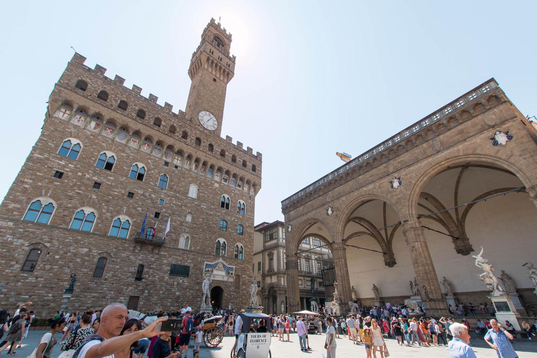 Piazza della Signoria mit dem Palazzo Vecchio