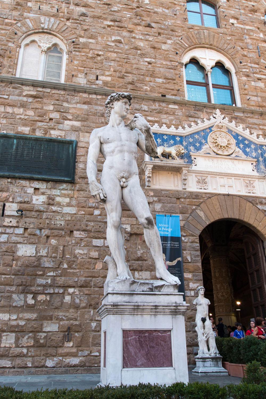 Die berühmte David-Statue