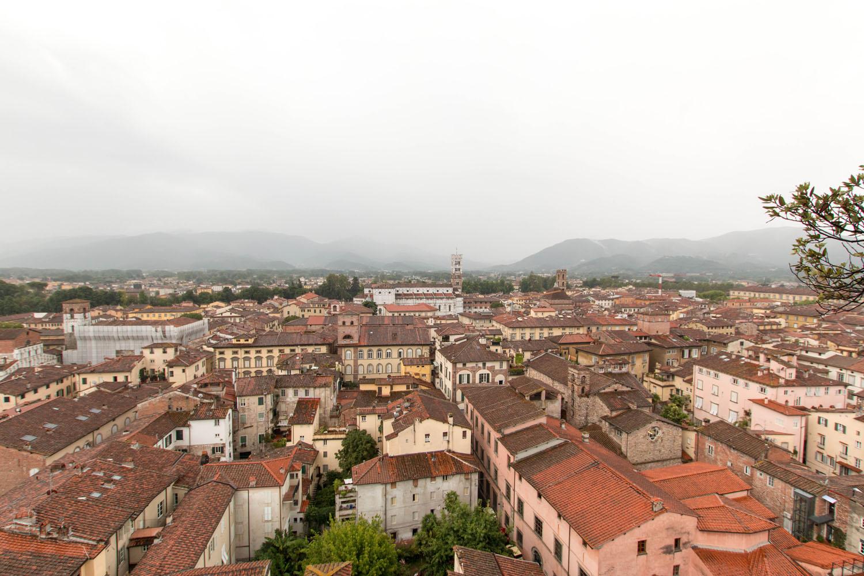 Ein toller Ausblick auf die Stadt...
