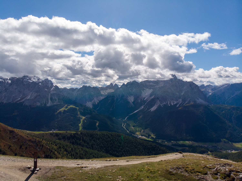 Sextener Dolomiten mit Drei Zinnen