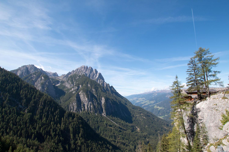 Dolomitenhütte mit traumhafter Aussicht