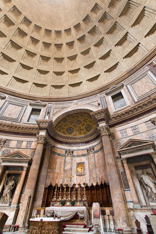 Der Altar im Pantheon