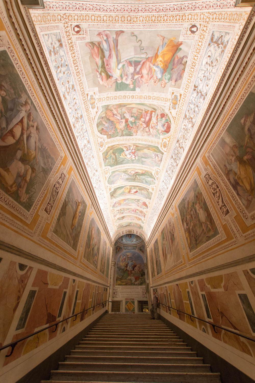 Fresken neben der Scala Santa