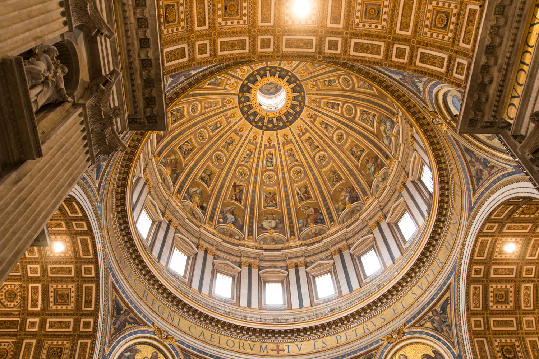 Michelangelos beeindruckende Kuppel