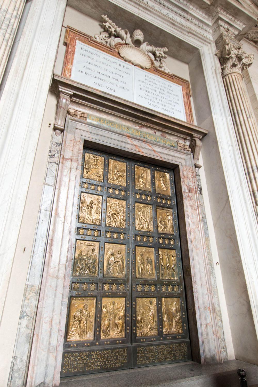 Porta Santa - die Heilige Pforte
