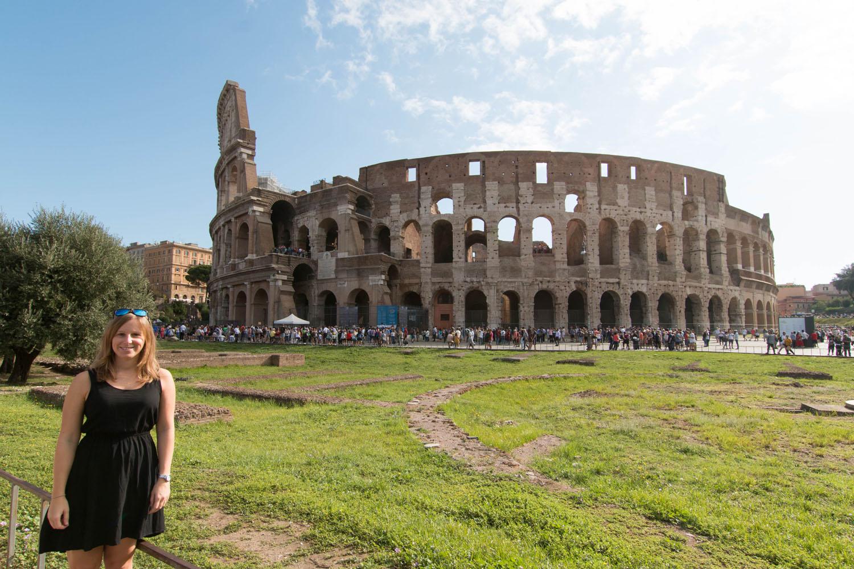 Das berühmte Kolosseum