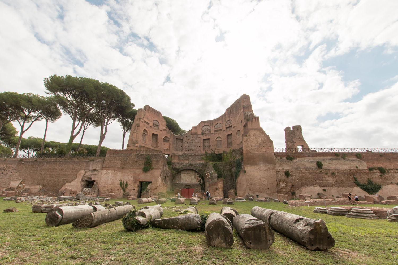 Ausgrabungen am Palatino