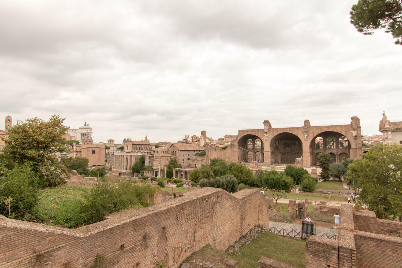 Blick Richtung Basilica di Massenzio
