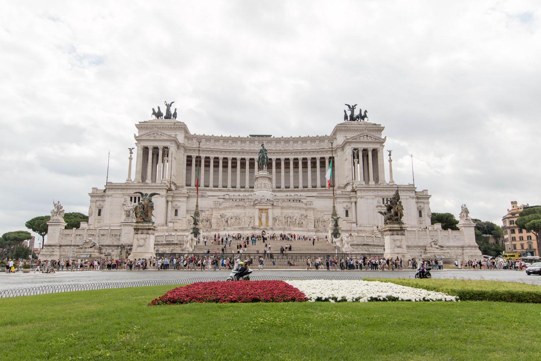 Monumento a Vittorio Emanuele II auf der Piazza Venezia