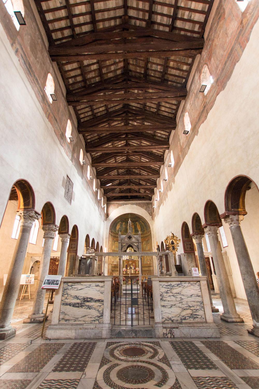 Innenraum von Santa Maria in Cosmedin