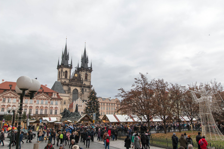Ein Adventwochenende in Prag