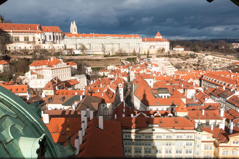 Blick Richtung Prager Burg