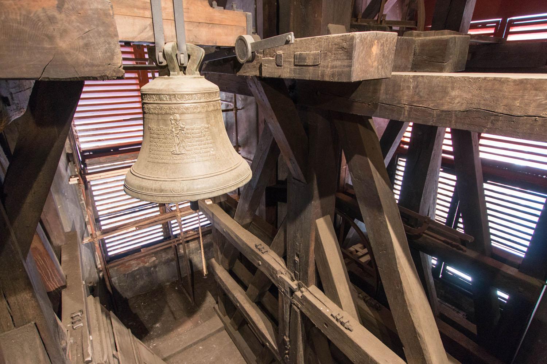 Aufstieg auf den Glockenturm