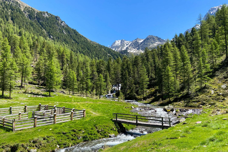 Wanderung auf die Hochschober Hütte im Nationalpark Hohe Tauern