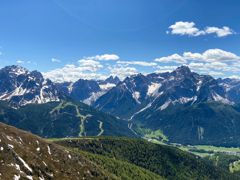 Sextener Dolomiten mit den 3 Zinnen