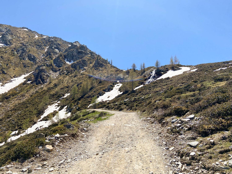 Weg 471 Richtung Sillianer Hütte