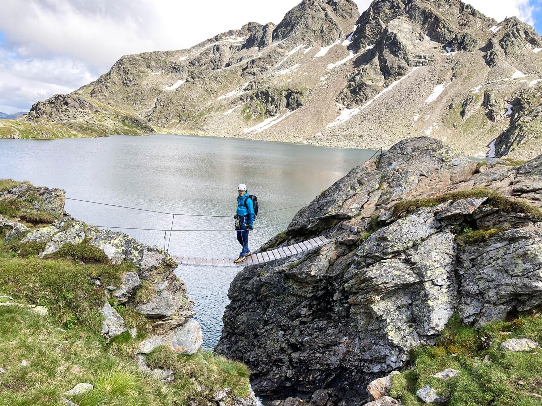 Klettersteig Wangenitzsee, Wangenitzseehütte, Debanttal