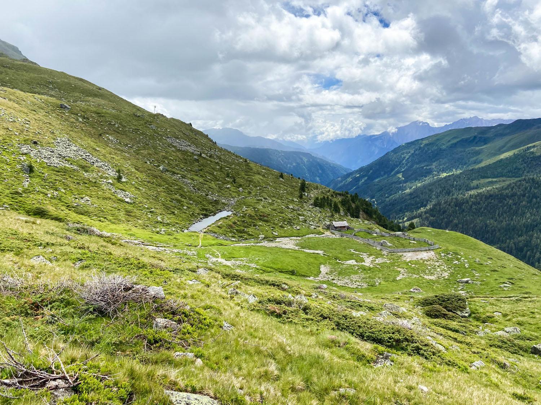 Gaimberger Halterhütte auf den Almböden, Debanttal
