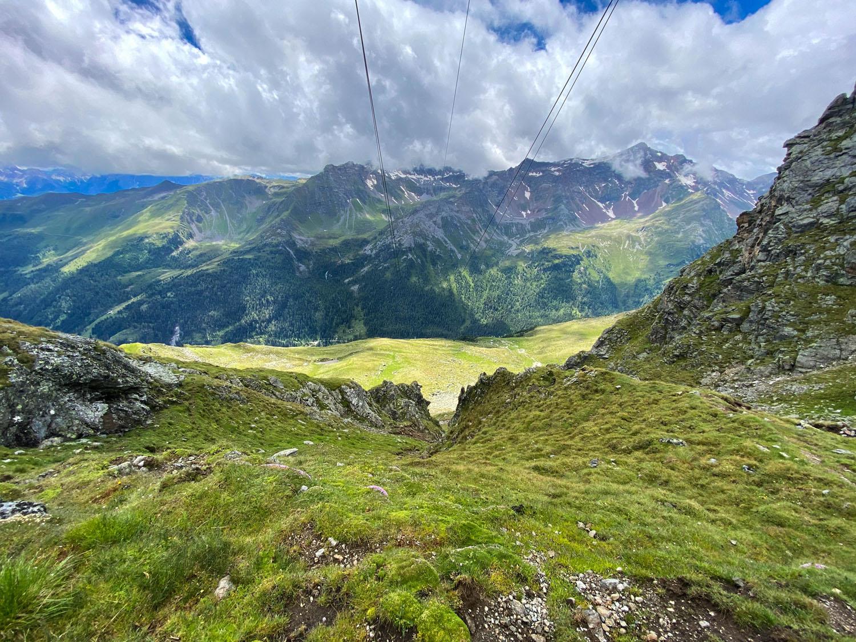 Untere Seescharte, Debanttal, Wangenitzseehütte