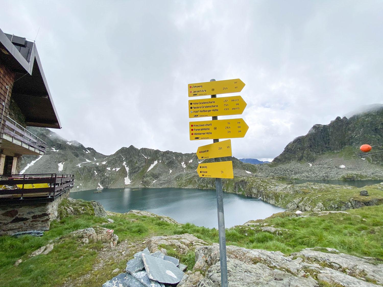 Wangenitzseehütte und Wangenitzsee, Debanttal